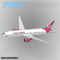 3ds b787-9 virgin atlantic airways