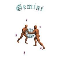 gemini - zodiac 3d max