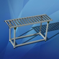 gravity roller conveyor 3d 3ds