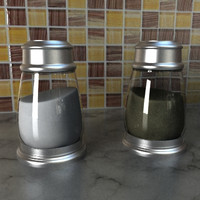 maya salt pepper shaker set