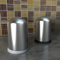 3d salt pepper shaker set
