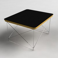 3d eames wire table model