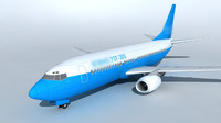 detailed 737 airplane