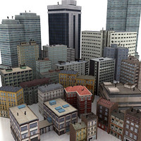 20+1 - City buildings