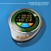 future chronometer 3d model