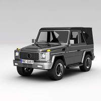 3ds max g wagon