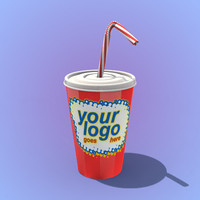 paper cup straw 3ds