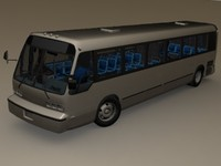 gmc rts bus obj