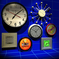 wall clock 01 secretary max
