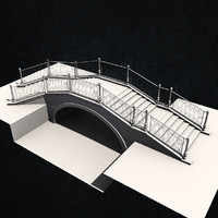 3ds max venice style bridge