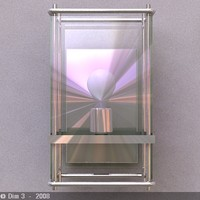 3ds max lamp sconce