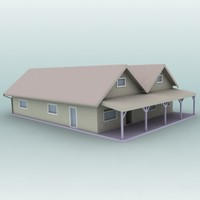 3d max house home