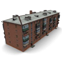 soviet house 3d max