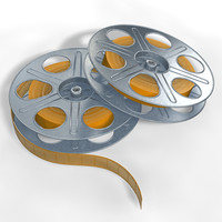 3ds max 35 mm reels