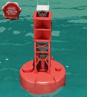 3d buoy modelled model
