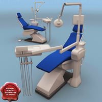dental chair 3d max