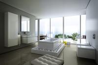 duravit scene toilet 3d model