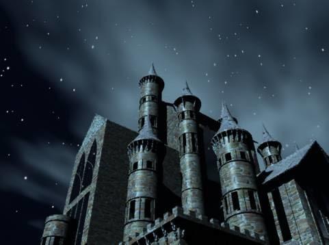 Gothic castle 3ds fantasy gothic castle by studio render