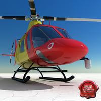 3ds max commercial helicopter a-119