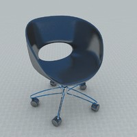 3d single chair
