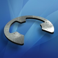 Stainless Steel Snap E Ring