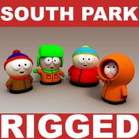 3d model south park