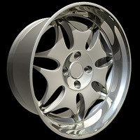 wheel rim 3ds free