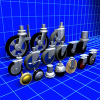 Caster and Wheels Collection 01