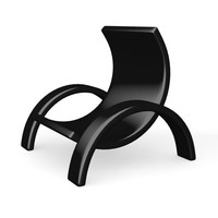 modern chair dxf