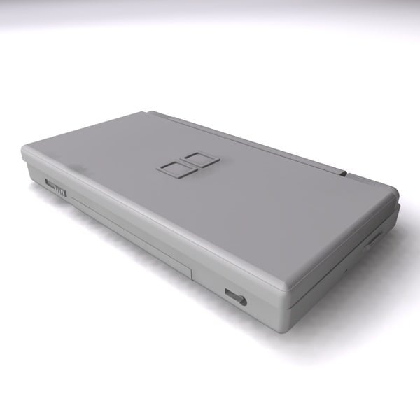 3ds max ds lite - DS lite... by krypbob