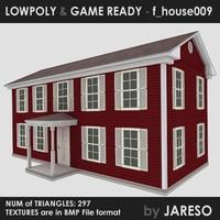 Lowpoly house - f_house009.rar