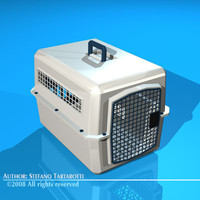 transport pet cage obj
