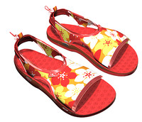 Sandals (Hawaiin Design)