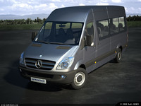 Mercedes New Sprinter Kombi Pack (3 Models)