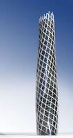 sky scraper skyscraper 3d model