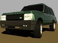 3d model range rover