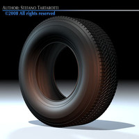 wheel tyre 3ds