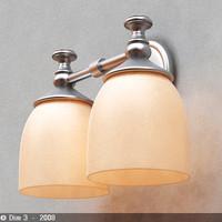 lamp sconce 3d model