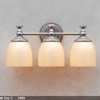 lamp sconce 3ds
