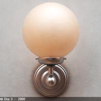 3d model lamp sconce