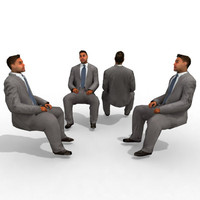 3d Model - Business Male #13a