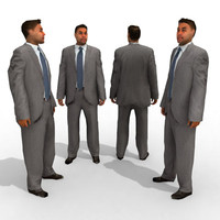 3d Model - Business Male #13