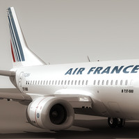 Boeing 737-500 Air France (S)