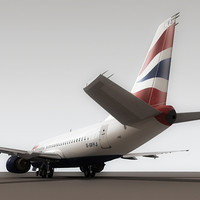 Boeing 737-500 British Airways (S)