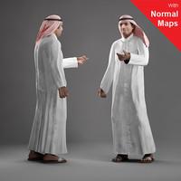 3d axyz human characters model