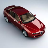 alfa romeo 3d model