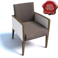 3d armchair 01831 model