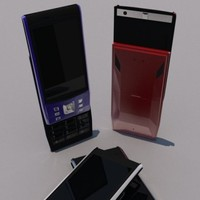 obj realistic cell phone