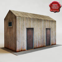 shed games modelled 3d obj