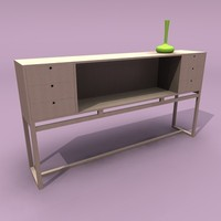 Modern Oak Dresser